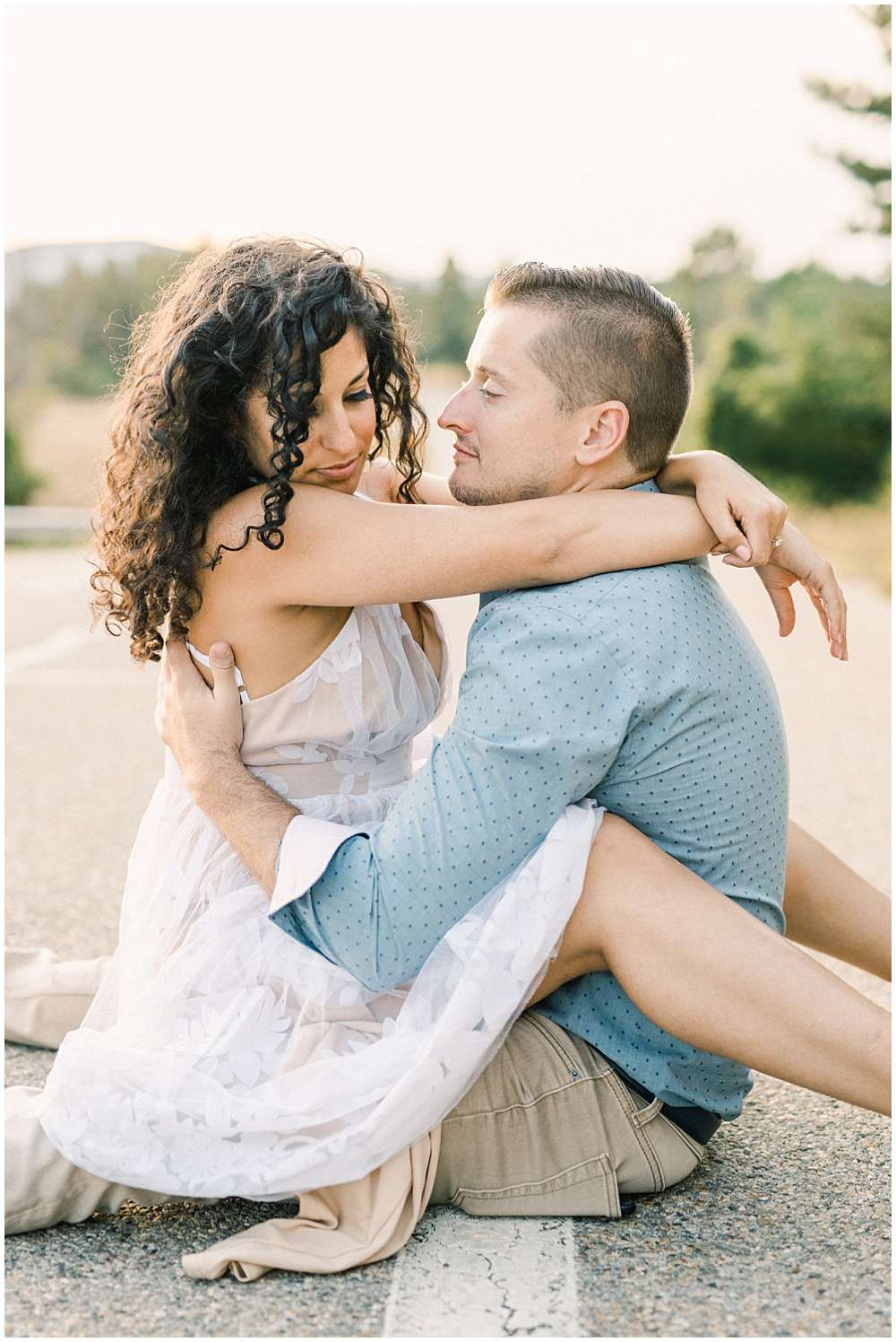 engagement session in provence