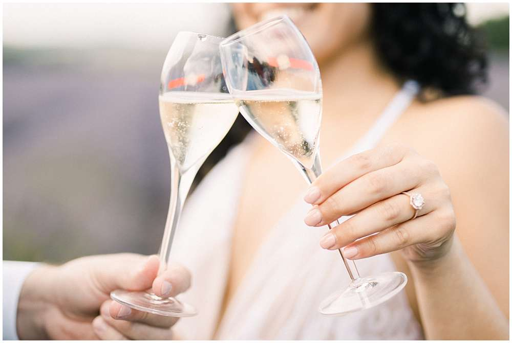cheers in provence photoshoot